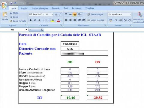 1997 Programma calcolo ICL