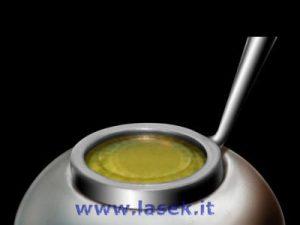 Apposizione della lente a contatto morbida 1