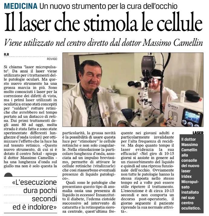 Il Gazzettino di Rovigo – 1 Febbraio 2016