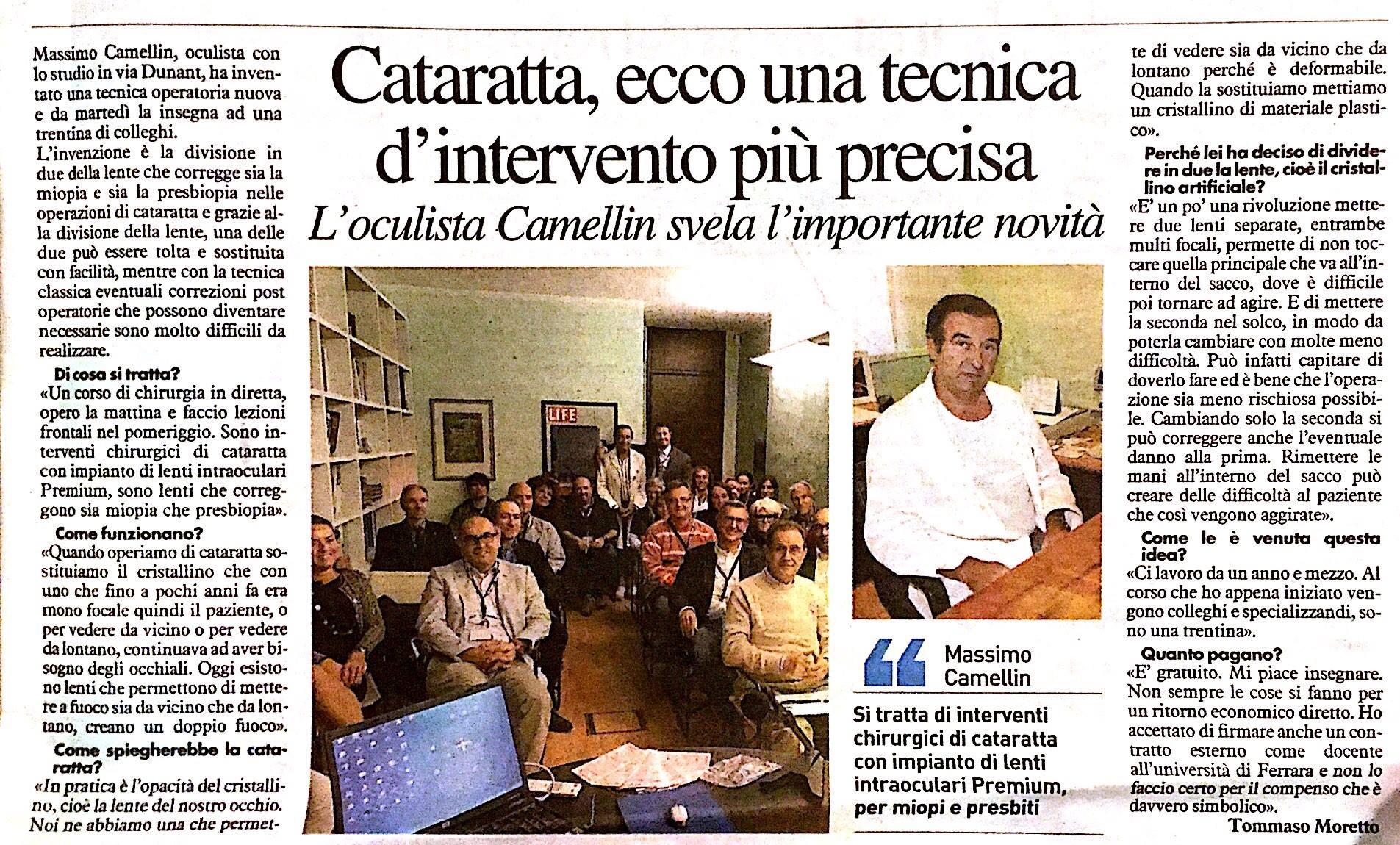 Il Resto del Carlino – Rovigo – 20 Ottobre 2016