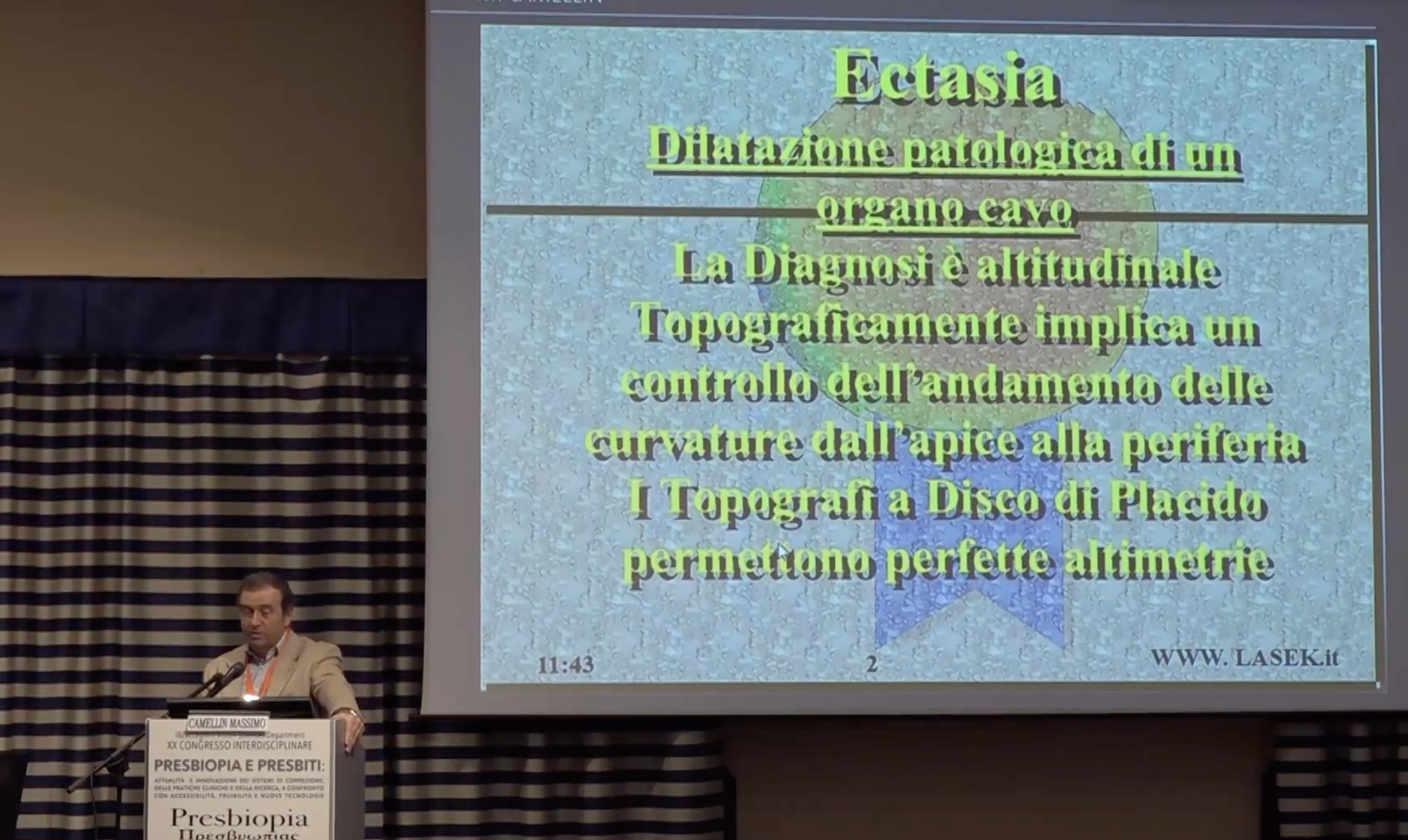 ECTASIA (XX Congresso Interdisciplinare Istituto Zaccagnini Bologna)